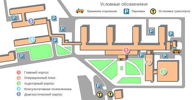 волынская больница схема проезда